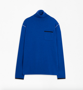 Nina Turtleneck Sweater in Blue