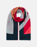 Load image into Gallery viewer, River Scarf in Multicolor Houndstooth