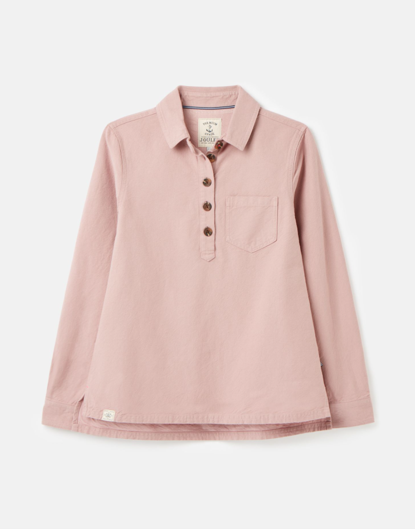 Ashbrook Popover Shirt in Dusty Mauve