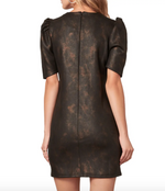 Load image into Gallery viewer, Trixie Dress in Faux Leather