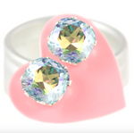 Load image into Gallery viewer, Cushion Cut Bling in Ice AB