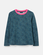Load image into Gallery viewer, Selma Print Shirt in Blue Animal