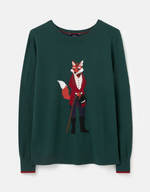 Load image into Gallery viewer, Miranda Sweater in Green Fox