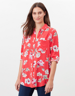 Load image into Gallery viewer, Elvina Shirt in Red Floral