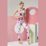 Load image into Gallery viewer, Tie Dye Sports Bra in Fuchsia Combo