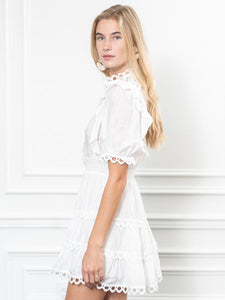 The Portofino Dress in White