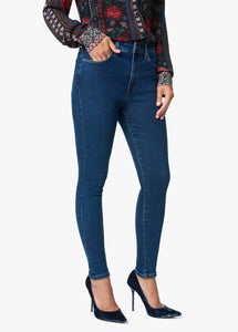 Charlie High Rise Skinny Jean in Thunderbird