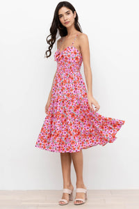 Ingrid Dress in Groovy Sunshine