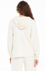 Load image into Gallery viewer, Lowry Loop Terry Hoodie in Sand Dollar
