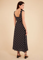Load image into Gallery viewer, Adnise Dress in Black Polka Dot