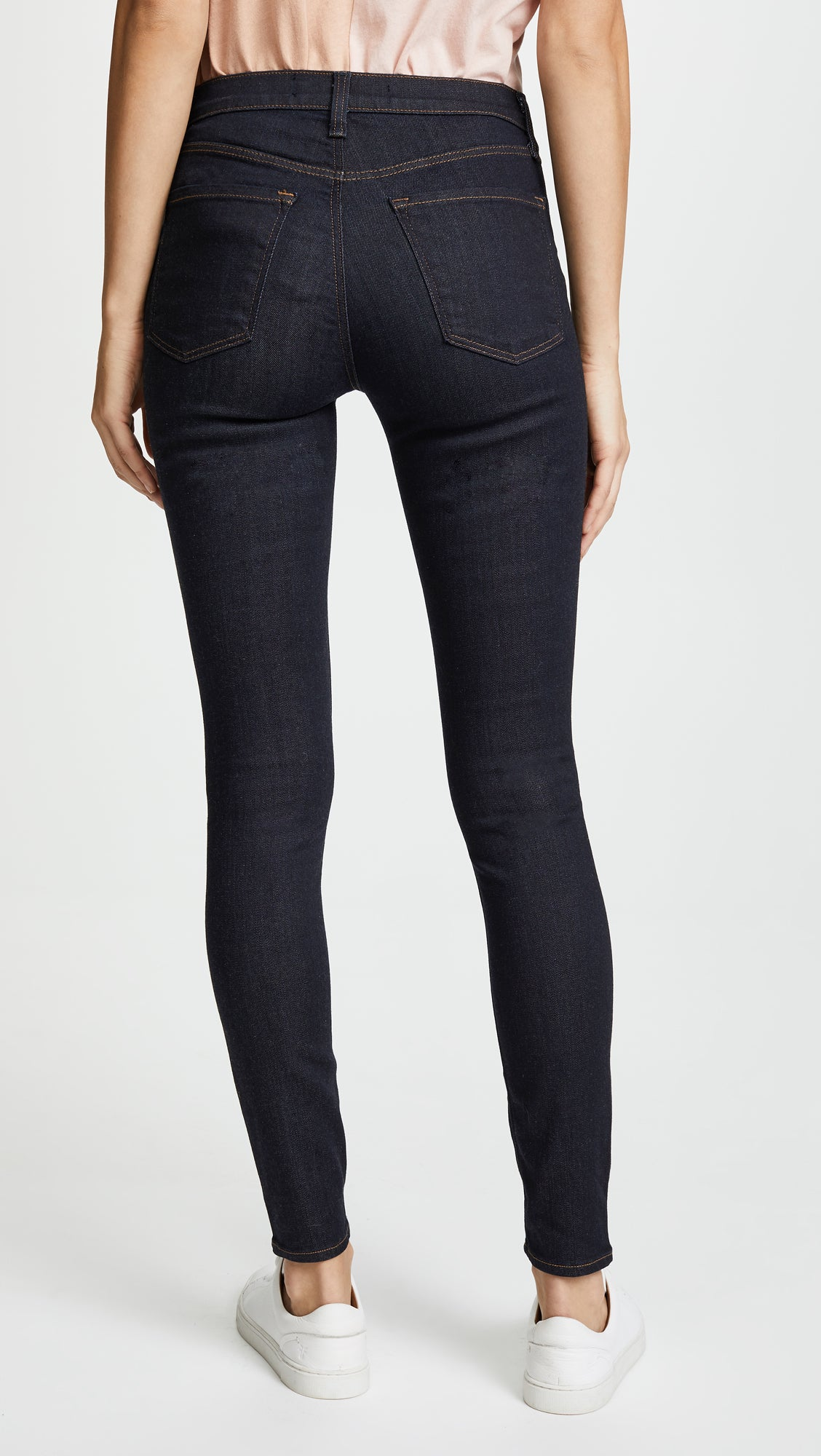 Maria High Rise Skinny Jean in After Dark
