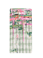 Load image into Gallery viewer, Modern Plaid Scarf in Green