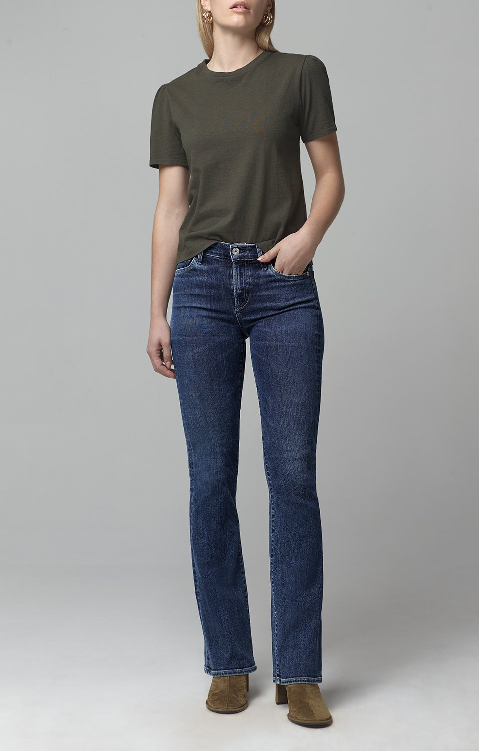 Emannuelle Boot Cut Jean in Alto