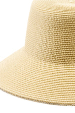 Load image into Gallery viewer, Adjustable Sun Hat with Jeweled Trim in Beige