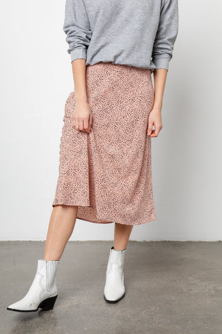 Anya Skirt in Rose Spotted