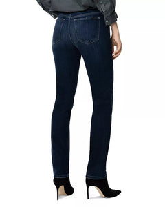 Lara Mid Rise Cigarette Ankle Jean in Avianna