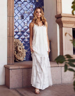 Load image into Gallery viewer, Embroidered Maxi Dress