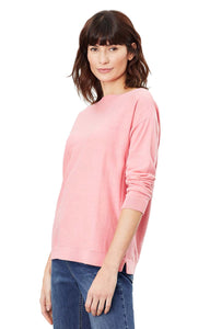 Bess Sweater in Pink Marl