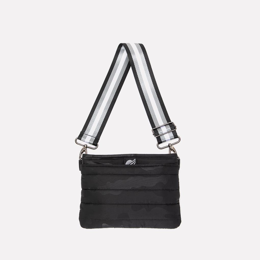 Bum Bag/Crossbody in Black Camo