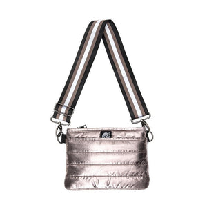 Bum Bag/Crossbody in Slate Foil