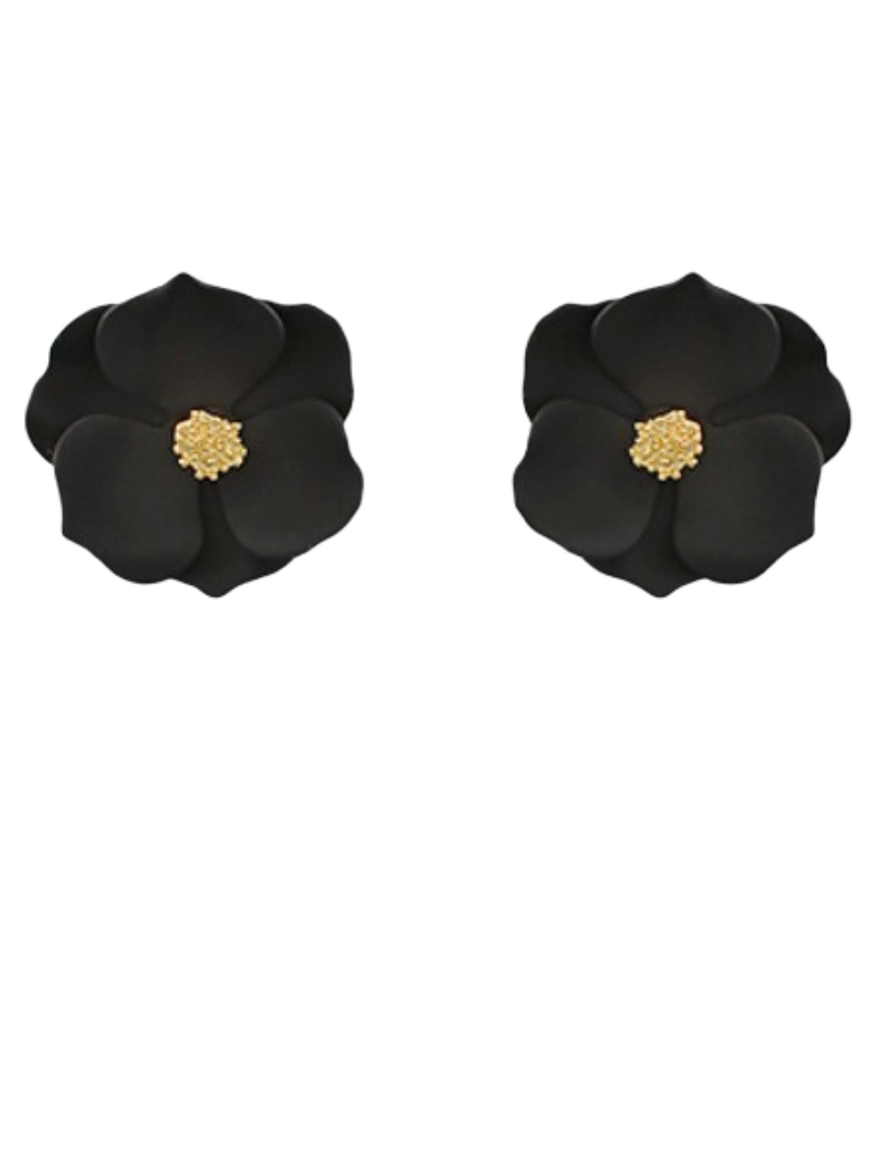 Buttercup Stud in Black