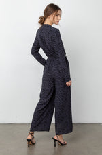 Load image into Gallery viewer, Callan Jumpsuit in Charcoal Tiger
