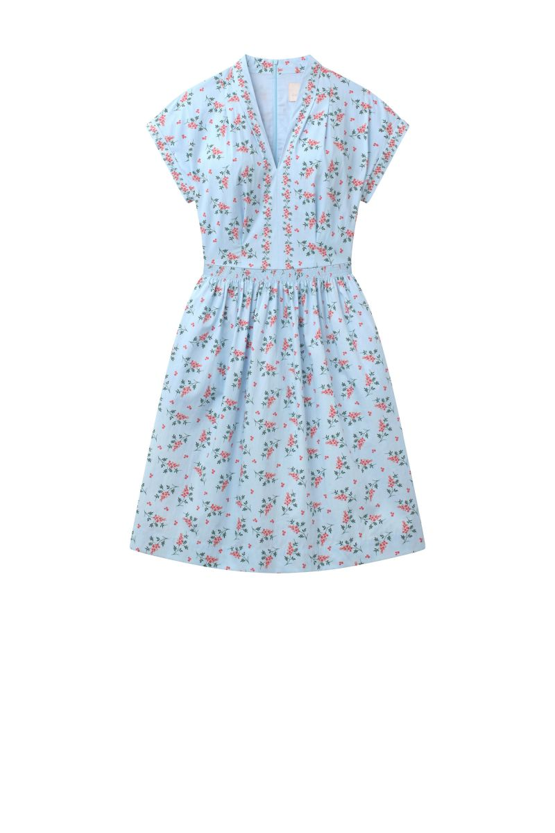 Cecily Dress in Mini Floral