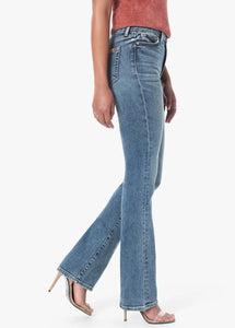 High Rise Honey Bootcut Jean in Chriselle