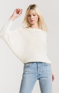 Dolman Sleeve Sweater in Ivory