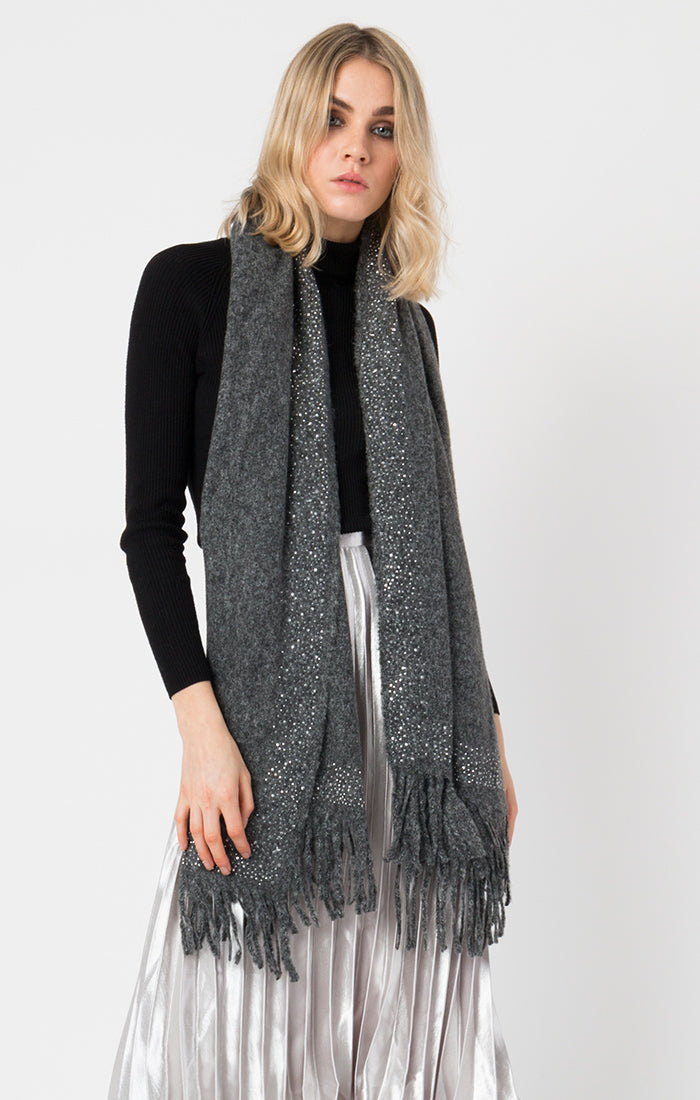 Colleen Scarf in Charcoal