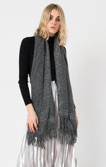 Load image into Gallery viewer, Colleen Scarf in Charcoal