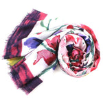Load image into Gallery viewer, Garden Shade Scarf in Fuchsia