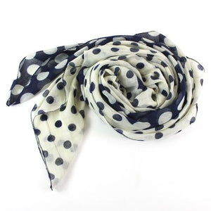 Lollipops Scarf in Navy