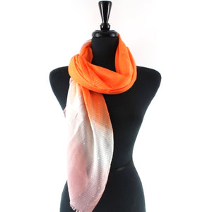 Prism Stars Scarf in Orange