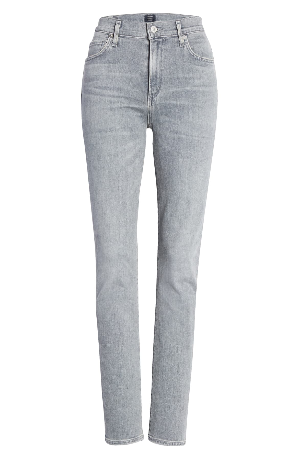 Harlow High Rise Slim Leg in Cosmic Grey