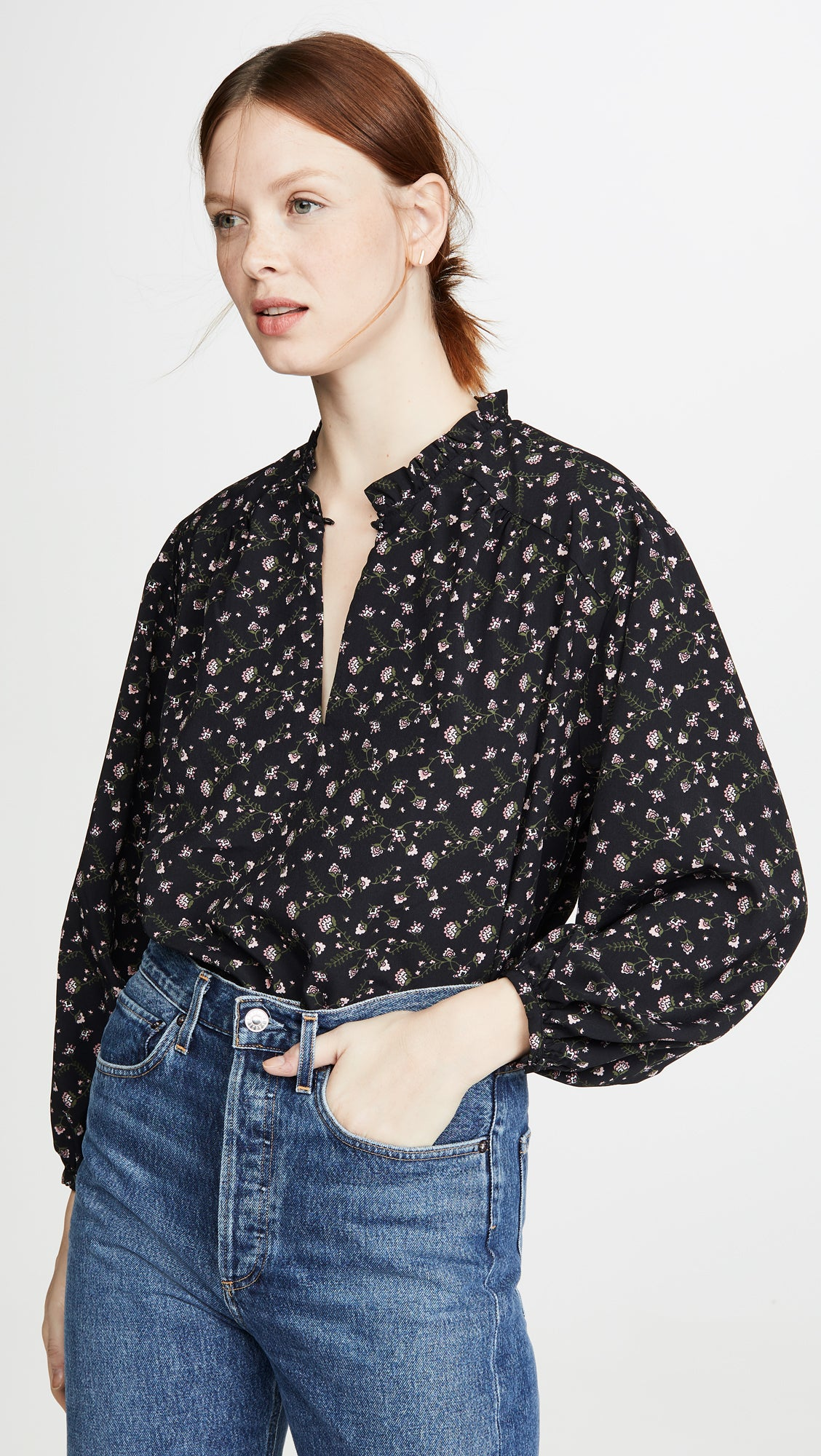 Victoria Top in Black