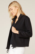 Load image into Gallery viewer, Day By Day Knit Jacket in Black