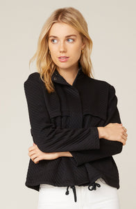 Day By Day Knit Jacket in Black
