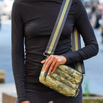 Load image into Gallery viewer, Diva Double Zip Bag in Olive Camo