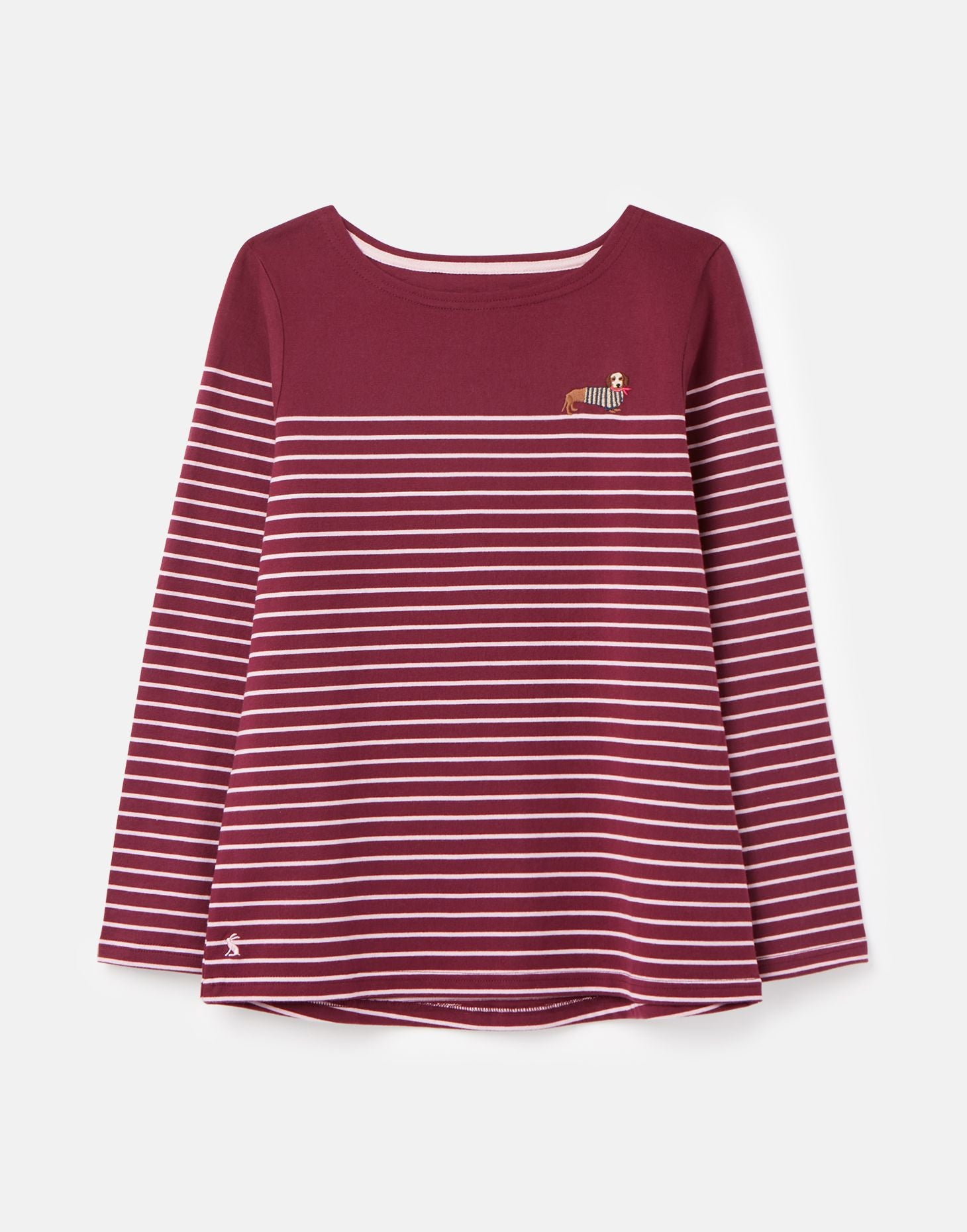 Harbour Jersey Shirt in Sausage Stripe