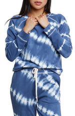 Load image into Gallery viewer, Theo Tie-Dye Sweatshirt in Sapphire