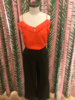 Load image into Gallery viewer, Emery Ruffle Tank in Hot Coral