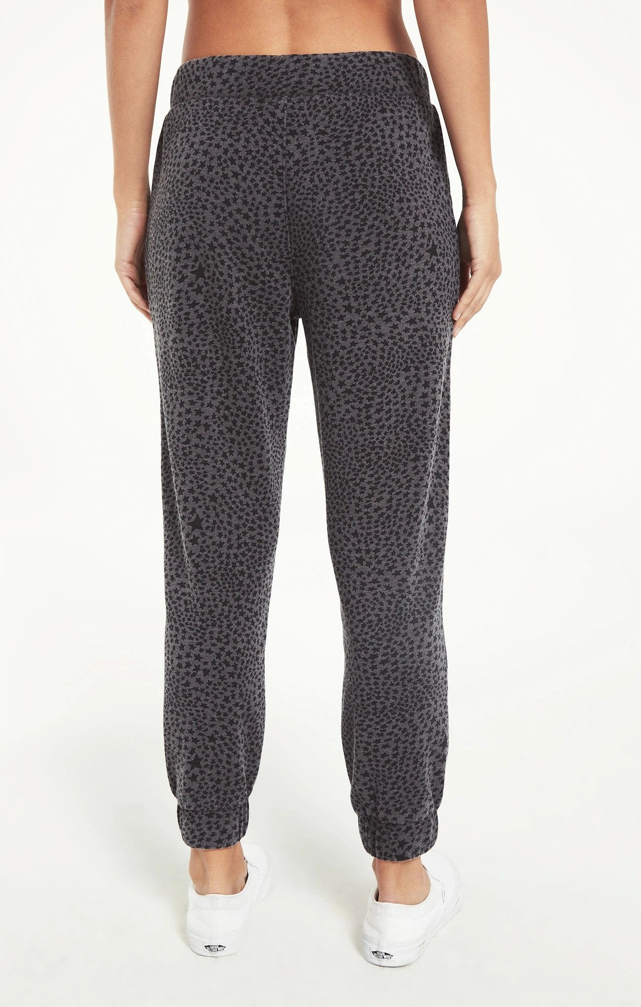 Cadence Stardust Jogger in Charcoal