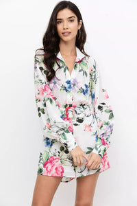 Perry Romper in Splendor Pink