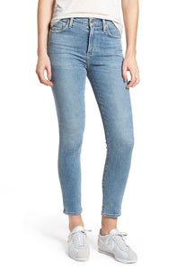Rocket Crop Mid Rise Jean in Firestone