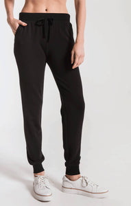 Premium Fleece Jogger in Black