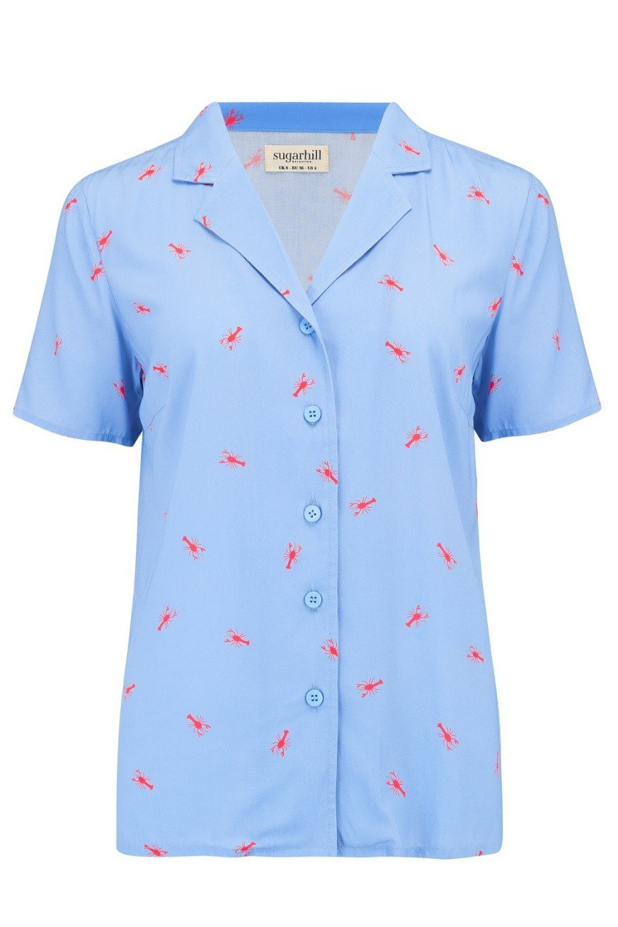 Hot Lobster Blouse