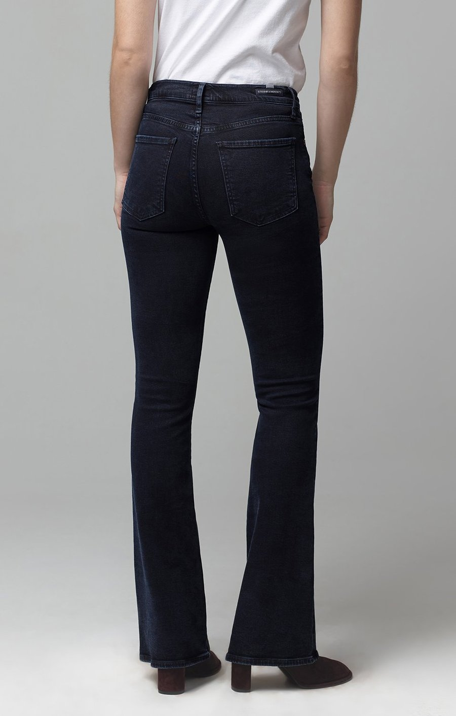 Emannuelle Petite Boot Cut Jean in Inkwell