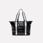 Load image into Gallery viewer, Junior Wingman Bag in Black Patent