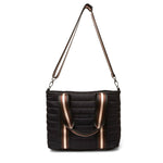 Load image into Gallery viewer, Junior Wingman Bag in Black Noir/Cream